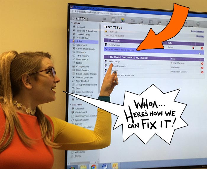 Sarah McIntyre - Metadata for publishers